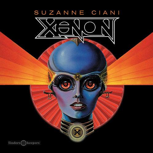 """Suzanne Ciani - Xenon  (BLUE 7"""")"""