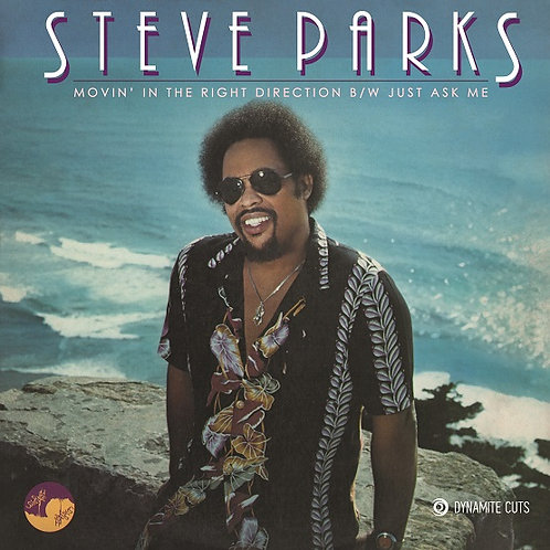 """Steve Parks - Moving In The Right Direction (7"""")"""