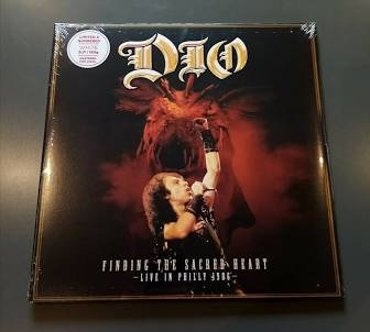 Dio - Finding The Sacred Heart: Live Philly 1986  (WHITE 2LP VINYL)