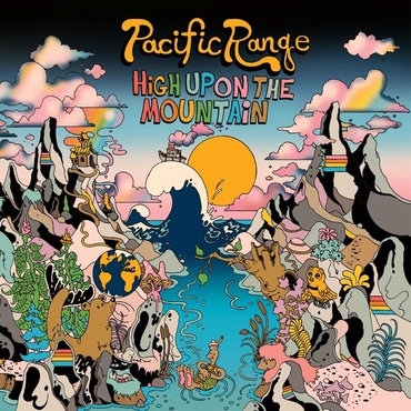Pacific Range - High Upon The Mountain (2LP BLACK & TURQUOISE VINYL + POSTER)