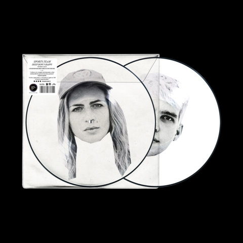 Sports Team - Deep Down Happy  (PICTURE DISC #2)
