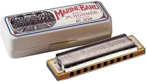 Hohner - 'MARINE BAND' Harp  (KEY 'F')