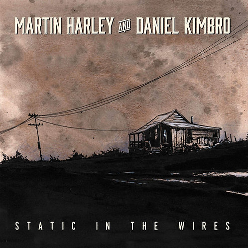 Martin Harley And Daniel Kimbro  - Static In The Wires (VINYL)