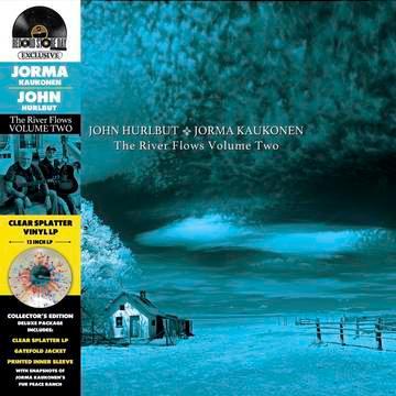 Jorma Kaukonen - The River Flows Vol. 2  (BLUE & PINK VINYL)