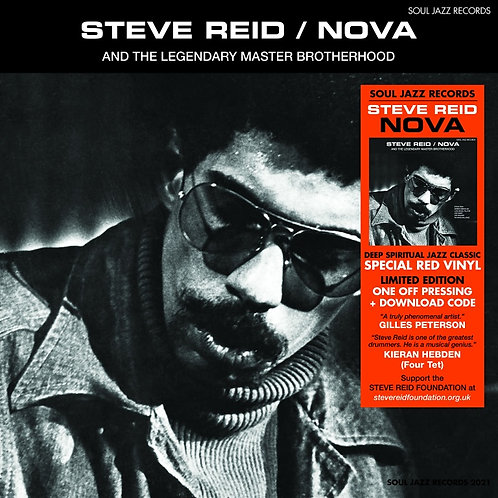 Steve Reid - Nova (LIMITED RED VINYL)
