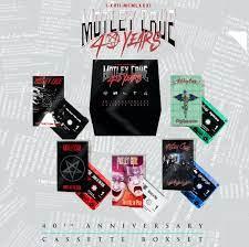 Motley Crue - 40Th Anniversary  (5 x CASSETTE BOX)