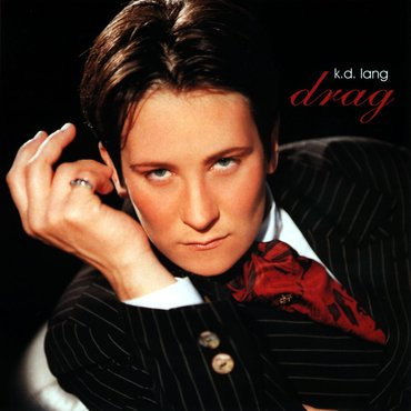 KD Lang -  Drag  (CLEAR/BLACK 2LP VINYL)