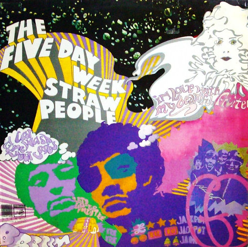 The Five Day Week Straw People - The Five Day Week Straw People  (VINYL)