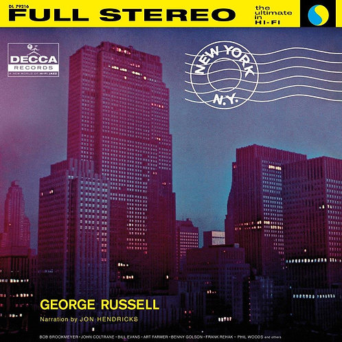 George Russell - New York  (ACOUSTIC SOUNDS VINYL)