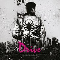 OST - Drive  (PINK + BLUE MARBLE VINYL)