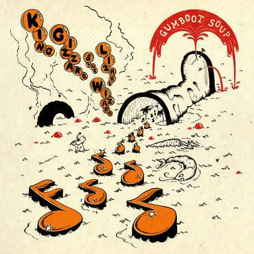 King Gizzard & The Lizard Wizard  - Gumboot Soup RECYCLED ECOMIX COLOURED VINYL