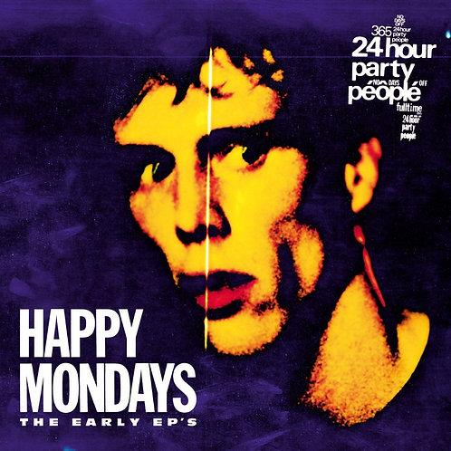 Happy Mondays - The Early EPs   (COLOURED 4LP BOX SET VINYL)