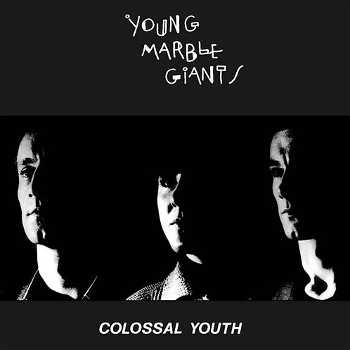 Young Marble Giants - Colossal Youth  (40TH ANNIVERSARY CLEAR 2LP VINYL)