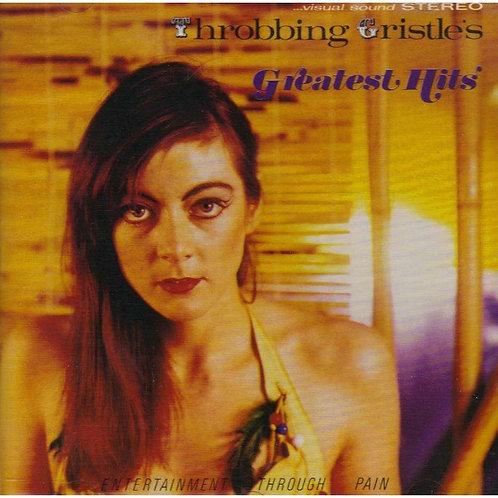 Throbbing Gristle - Greatest Hits  (LIMITED TRANSPARENT ORANGE VINYL)