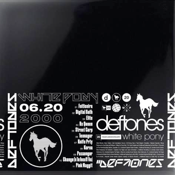 Deftones - White Pony  (20TH ANNIVERSARY 4LP + PRINT)