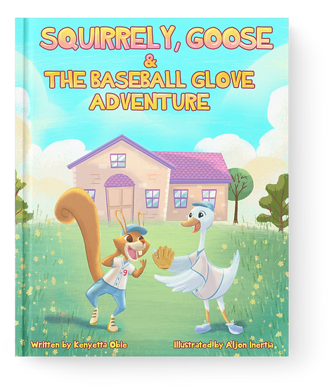 Squirrely, Goose & The Baseball Glove Adventure