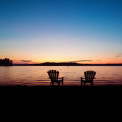 Wilson Lake sunsets