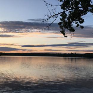 Calm summer night at White Birches