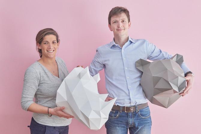 Alix Chambéron et Thibaud Debaecker, fondateurs de PicInTouch