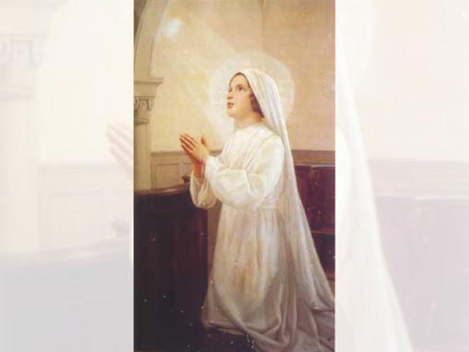 Bienheureuse Imelda, la fleur de l'Eucharistie