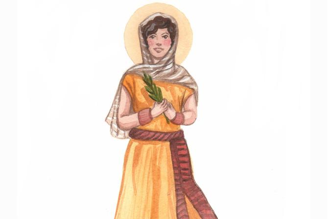 Sainte Priscille, amie de saint Paul