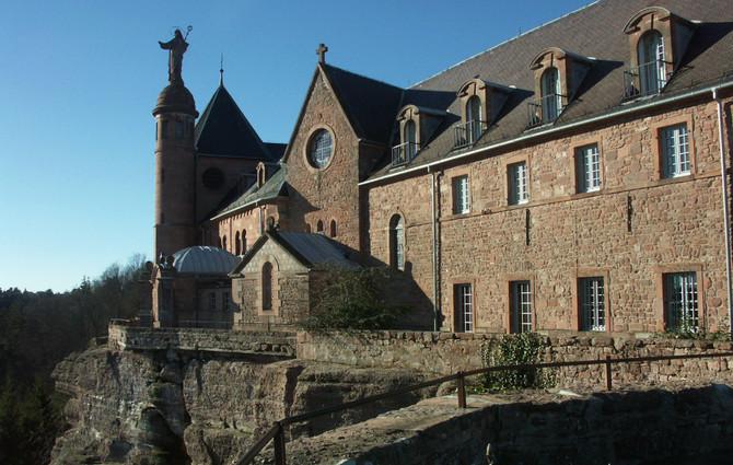 Sainte Odile, patronne de l'Alsace