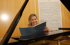 Elizabeth Sombart, pianiste: «La musique fait entrer dans une relation verticale»