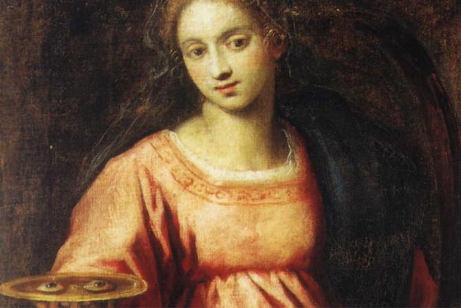 Sainte Lucie, la porteuse de lumière