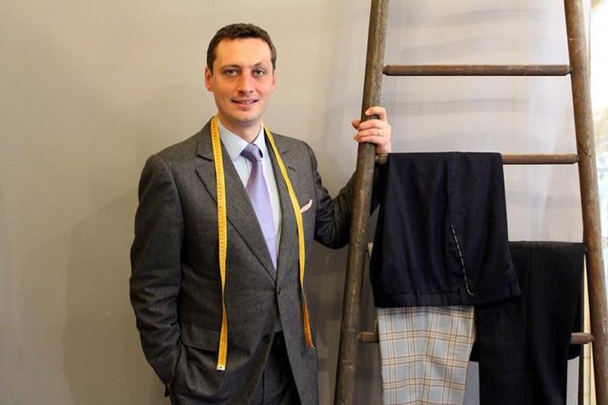 Benoît Aguelon, papa entrepreneur