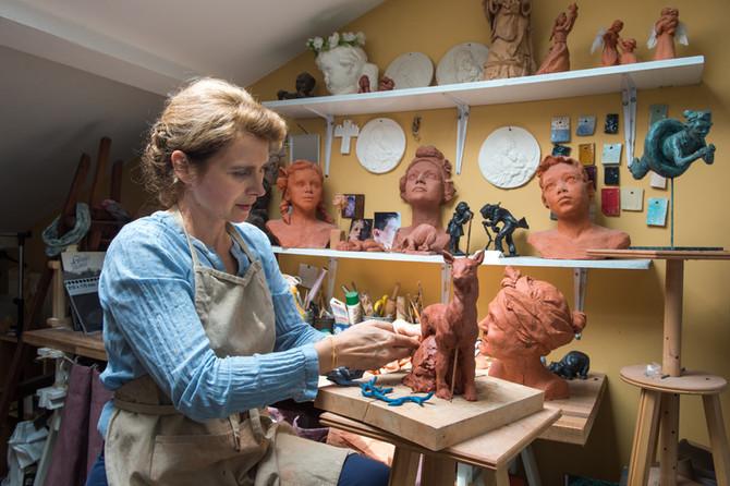 Sophie Barut, auteur et sculpteur