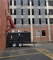 Qube Trailer and Chute Application Image