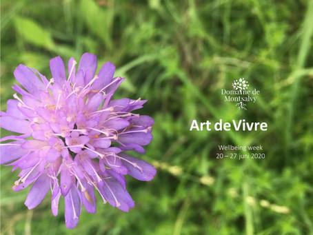 Mindfulness week Art de Vivre 20 - 27 juni 2020