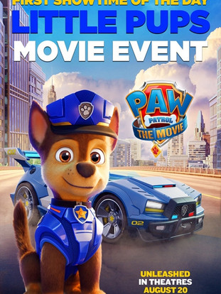 Paw Patrol: The Movie - Little Pups Event