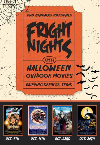 Family Fright Nights at EVO Cinemas Belterra