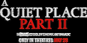 A quiet Place 2 logo.png