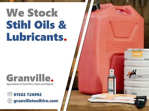 Granville Tool Hire Luton_Stihl Oils
