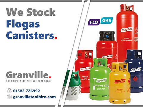 Granville Tool Hire Luton_Flogas Cylinde
