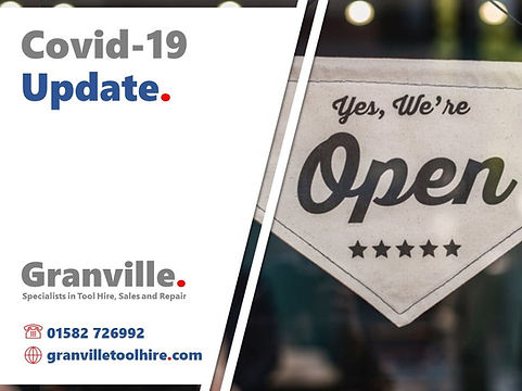 Granville Tool Hire Luton_News Covid-19 Update