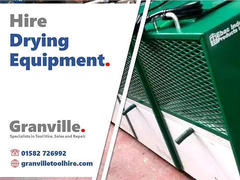 Granville Tool Hire Luton_News Drying Eq