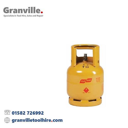 Flogas Butane Gas Cylinder 4.5kg 21mm