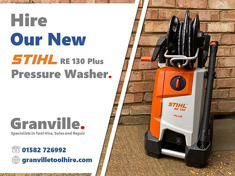 Granville Tool Hire Luton_News New Pressure Washer