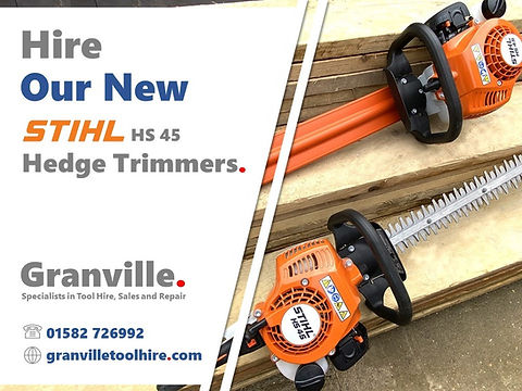 Granville Tool Hire Luton_Hedge Trimmer