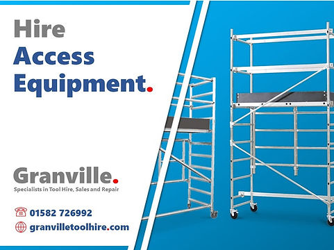 Granville Tool Hire Luton_News Access Eq