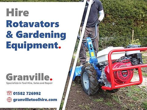 Granville Tool Hire Luton_News Rotavator