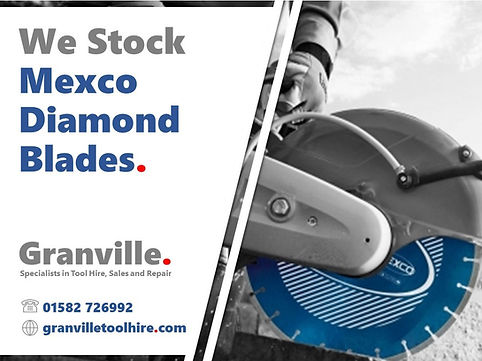 Granville Tool Hire Luton_Mexco Blades