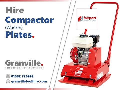 Granville Tool Hire Luton_Compactor Plat