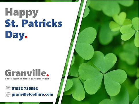 Granville Tool Hire Luton_News St. Patricks Day