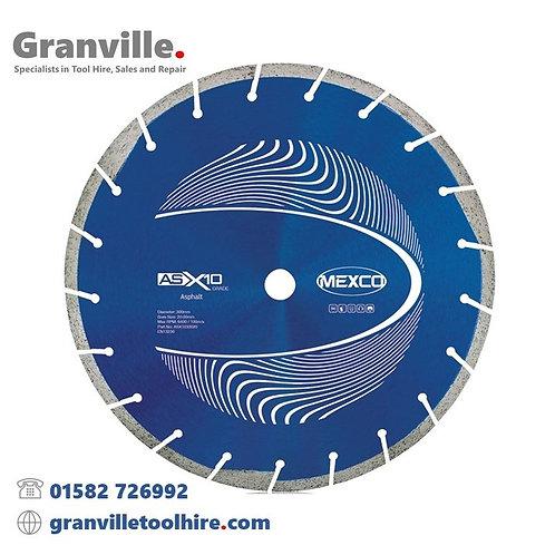 Mexco ASX10 Asphalt 300mm Diamond Blade