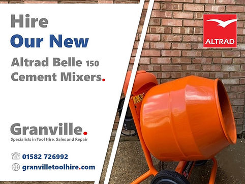 Granville Tool Hire Luton_Cement Mixer H