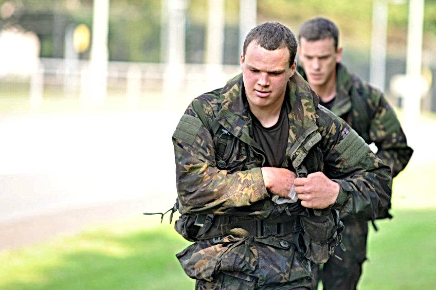 Get fit to join the royal Marines